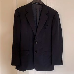 Ermenegildo Zegna Navy Wool Suit Jacket